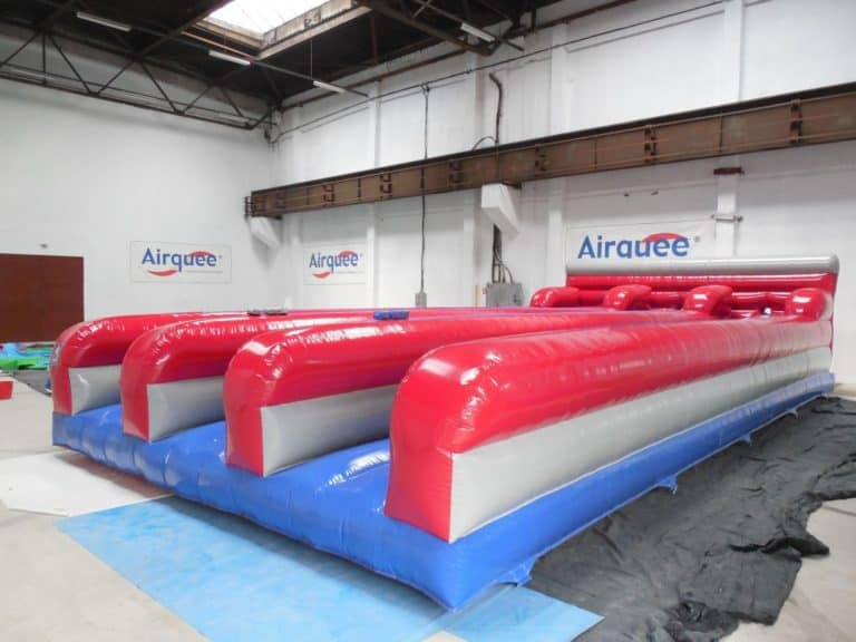 J4L Bouncy Castle Hire 3 Lane Bungee Run
