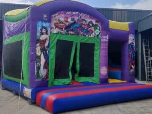 Justice League Bouncy Castle