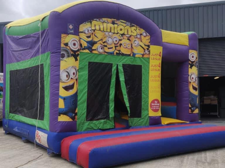 J4L Bouncy Castle Hire minions
