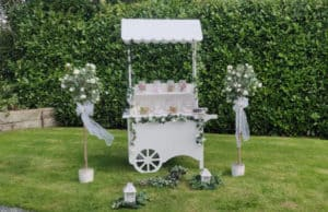 Candy Cart Packed with Treats