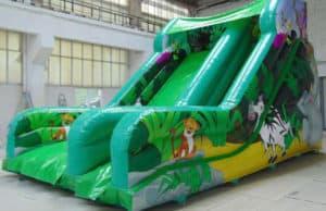 12ft Platform Mega Jungle Slide (Large)
