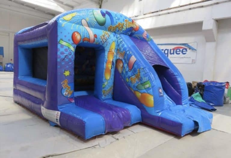 picture of party time bouncy castle for children